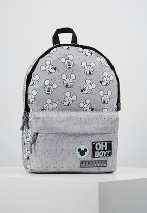 MICKEY MOUSE GO FOR IT BACKPACK - Rucksack - grey