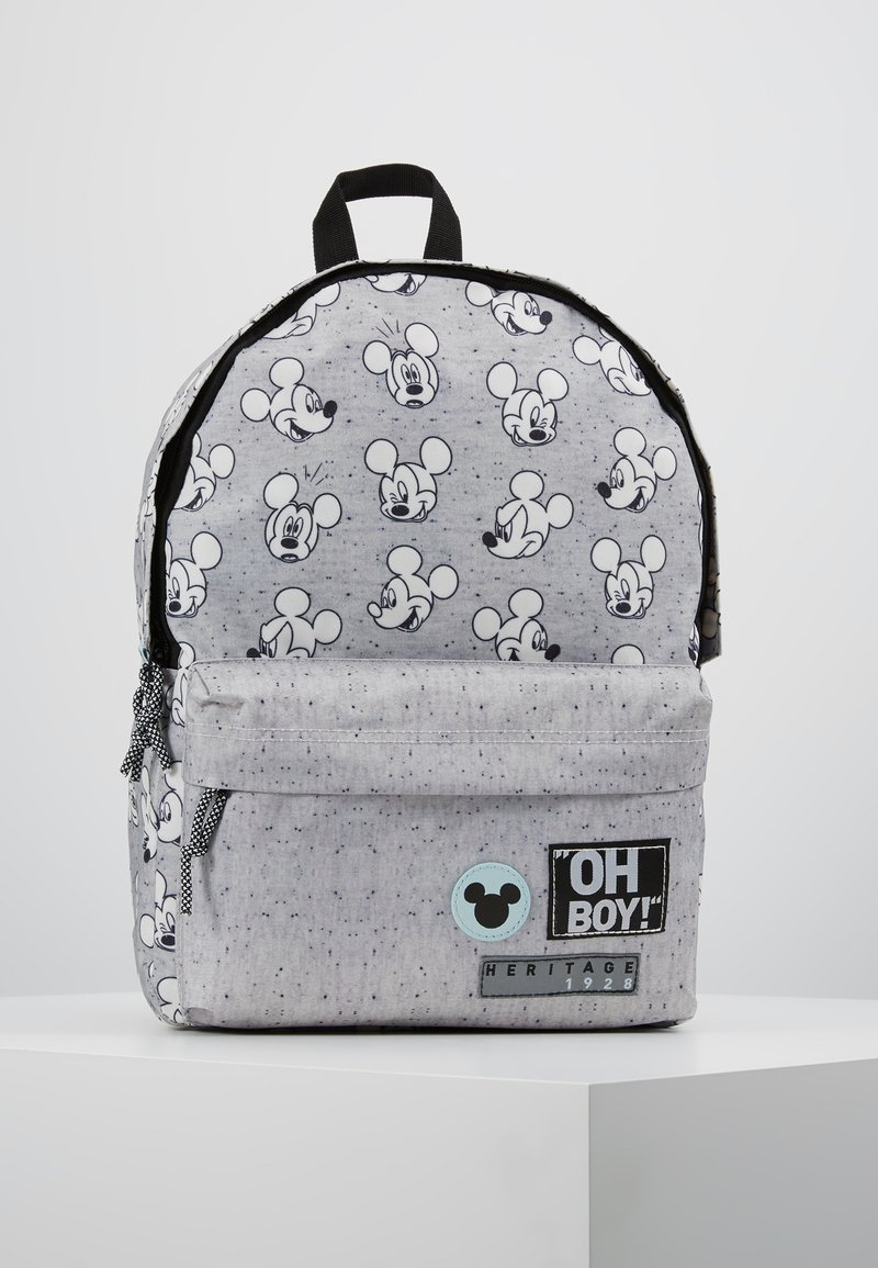 Kidzroom - MICKEY MOUSE GO FOR IT BACKPACK - Tagesrucksack - grey