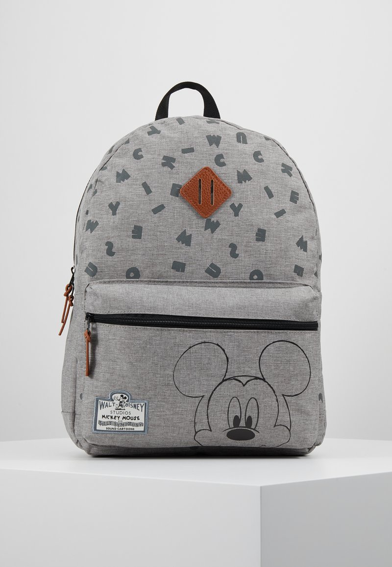 Kidzroom - MICKEY MOUSE 90TH ANNIVERSARY BACKPACK - Tagesrucksack - grey