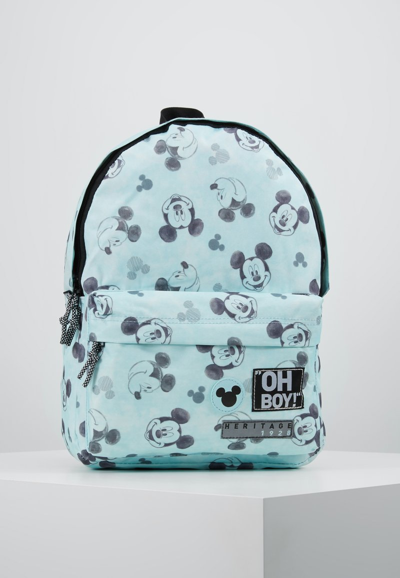 Kidzroom - MICKEY MOUSE GO FOR IT BACKPACK - Rucksack - mint