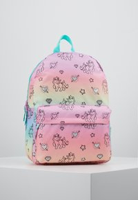 Kidzroom - BACKPACK MILKY KISS RAINBOWS AND UNICORNS BIG - Reppu - multicoloured - 0