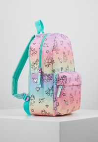 Kidzroom - BACKPACK MILKY KISS RAINBOWS AND UNICORNS BIG - Reppu - multicoloured - 4