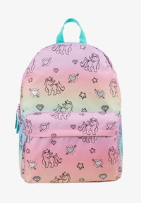 Kidzroom - BACKPACK MILKY KISS RAINBOWS AND UNICORNS BIG - Reppu - multicoloured - 1