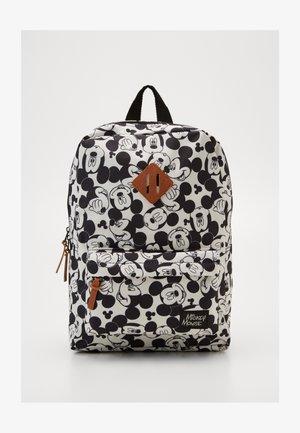 BACKPACK AND PENCIL CASE MICKEY MOUSE ALL TOGETHER SET - Školní taška - black/white