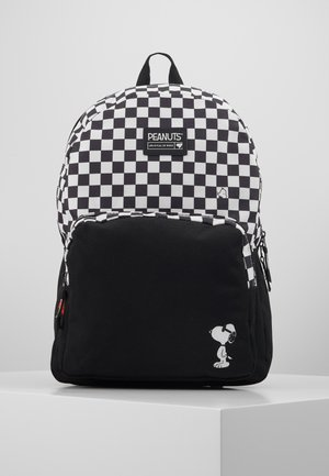 BACKPACK SNOOPY FULL OF RISKS  - Rygsække - black
