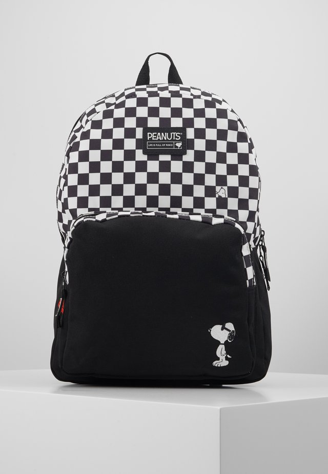 BACKPACK SNOOPY FULL OF RISKS  - Rugzak - black