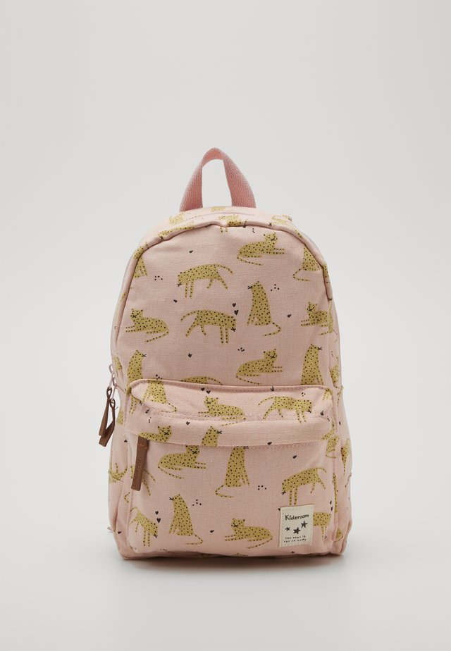 BACKPACK CUDDLE LEOPARD - Ryggsekk - pink