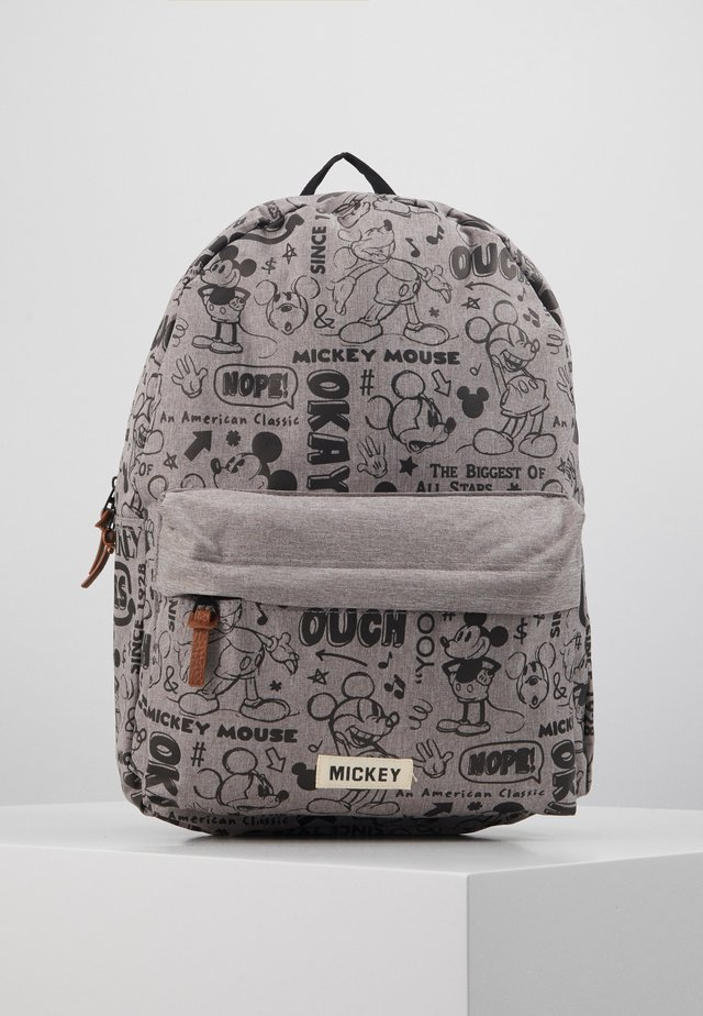 BACKPACK MICKEY MOUSE REPEAT AFTER ME - Ryggsekk - grey