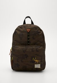Kidzroom - BACKPACK SKOOTER IN YOUR FACE LARGE - Rugzak - green - 0