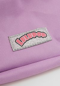 Kidzroom - BACKPACK PENCIL CASE LULUPOP THE CUTIEPIES FLUFFY AND SWEET SET - Školní taška - purple - 5