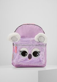 Kidzroom - BACKPACK PENCIL CASE LULUPOP THE CUTIEPIES FLUFFY AND SWEET SET - Školní taška - purple - 1