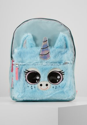 BACKPACK LULUPOP THE CUTIEPIES FLUFFY AND SWEET UNICORN - Mochila - blue
