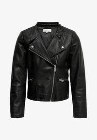 Kids ONLY - Faux leather jacket - black - 0