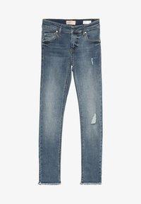 Kids ONLY - KONBLUSH REA - Skinny džíny - medium blue denim - 4