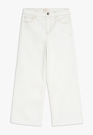 KONTHEA - Jean flare - white denim