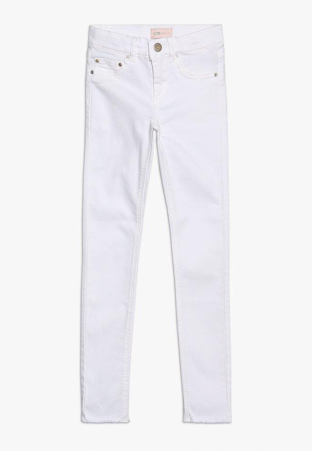 KONBLUSH - Skinny džíny - white denim