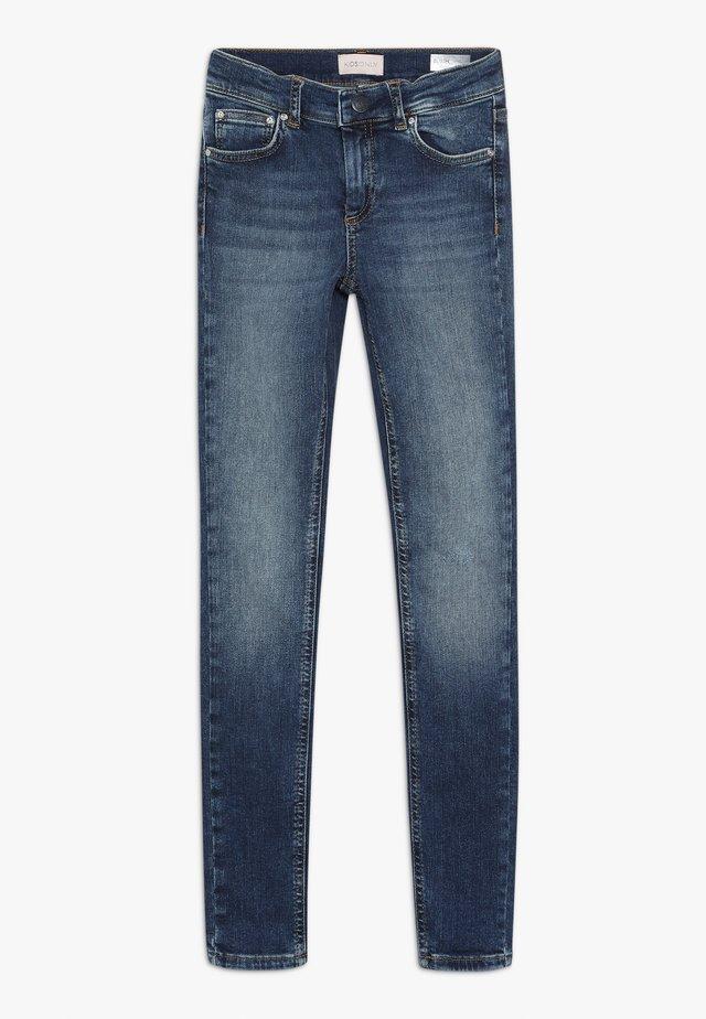 KONBLUSH - Jeans Skinny Fit - dark blue denim