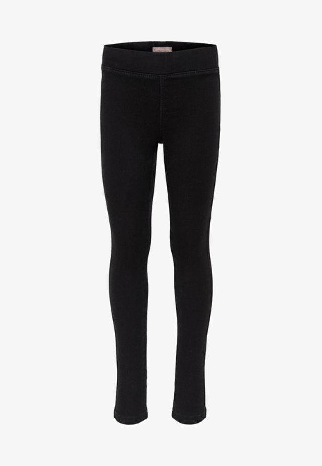 Jeggings - black denim