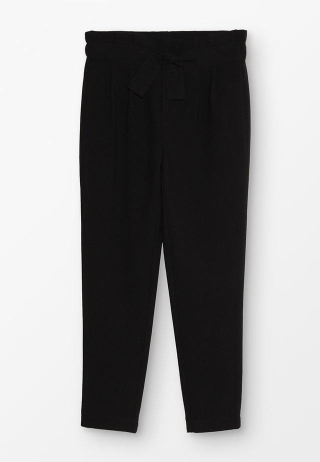 KONFLORENCE PANT - Spodnie materiałowe - black