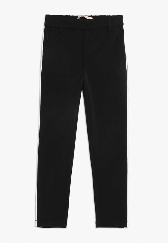KONCOOL PANEL PANT - Pantalon classique - black