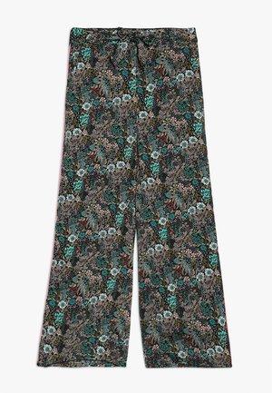 KONTILMA PALAZZO PANTS - Trousers - black