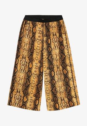 KONCOCO CULOTTE PALAZZO PANT - Kalhoty - golden yellow