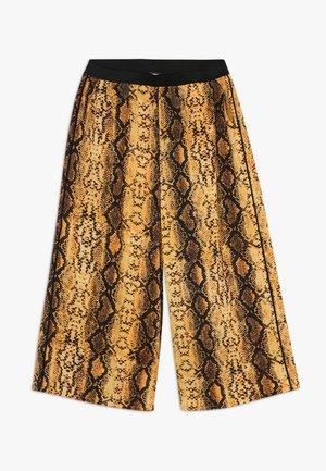 KONCOCO CULOTTE PALAZZO PANT - Pantaloni - golden yellow