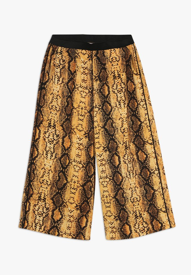 KONCOCO CULOTTE PALAZZO PANT - Tygbyxor - golden yellow