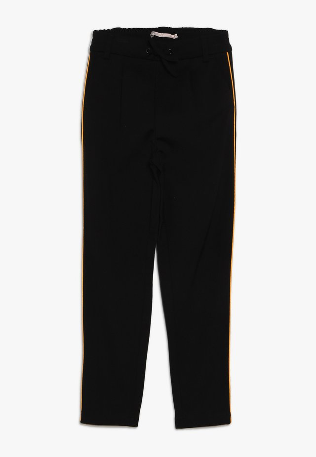 KONPOPTRASH SNAKE PANEL PANT - Pantalon de survêtement - black/orange