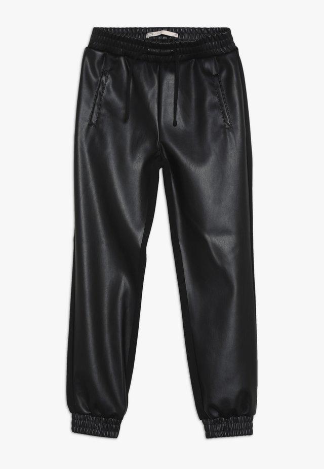 KONCLARA MIX PANT - Kalhoty - black