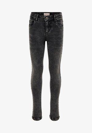Jeansy Skinny Fit - black