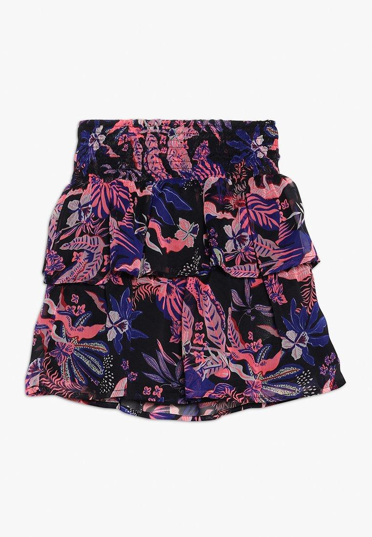Kids ONLY - KONISABELLA SHORT FLOUNCE SKIRT BOX - Mini skirts  - black