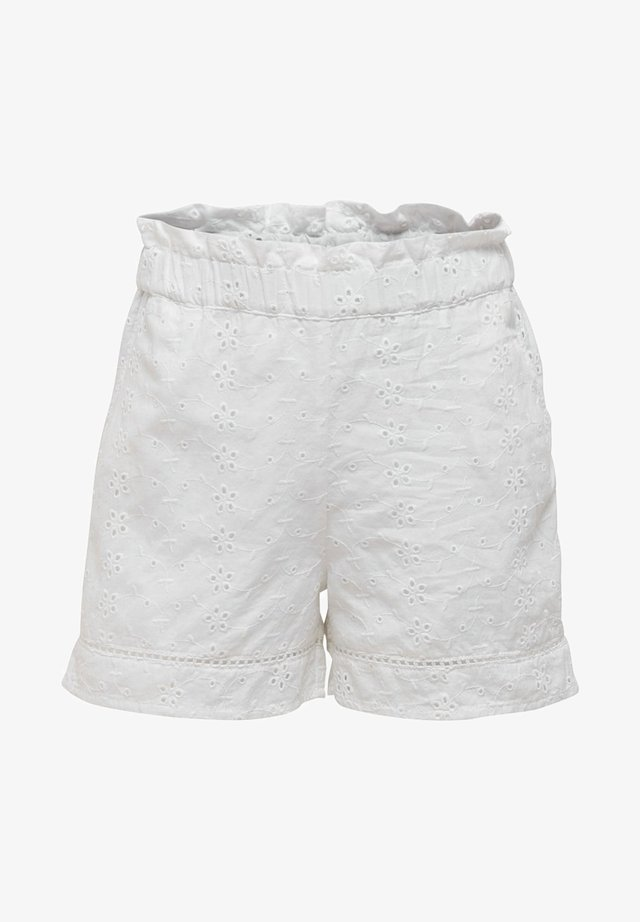 SHORTS PAPERBAG - Shorts - bright white