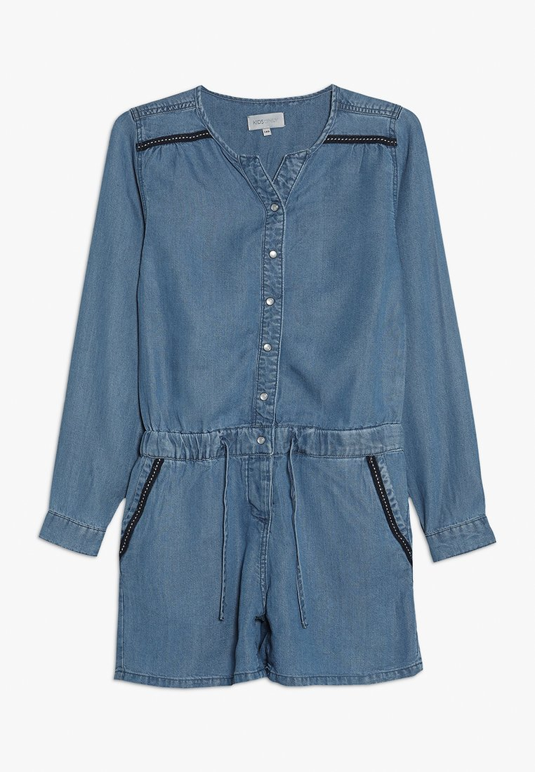 Kids ONLY - KONJULIE PLAYSUIT - Jumpsuit - dark blue denim