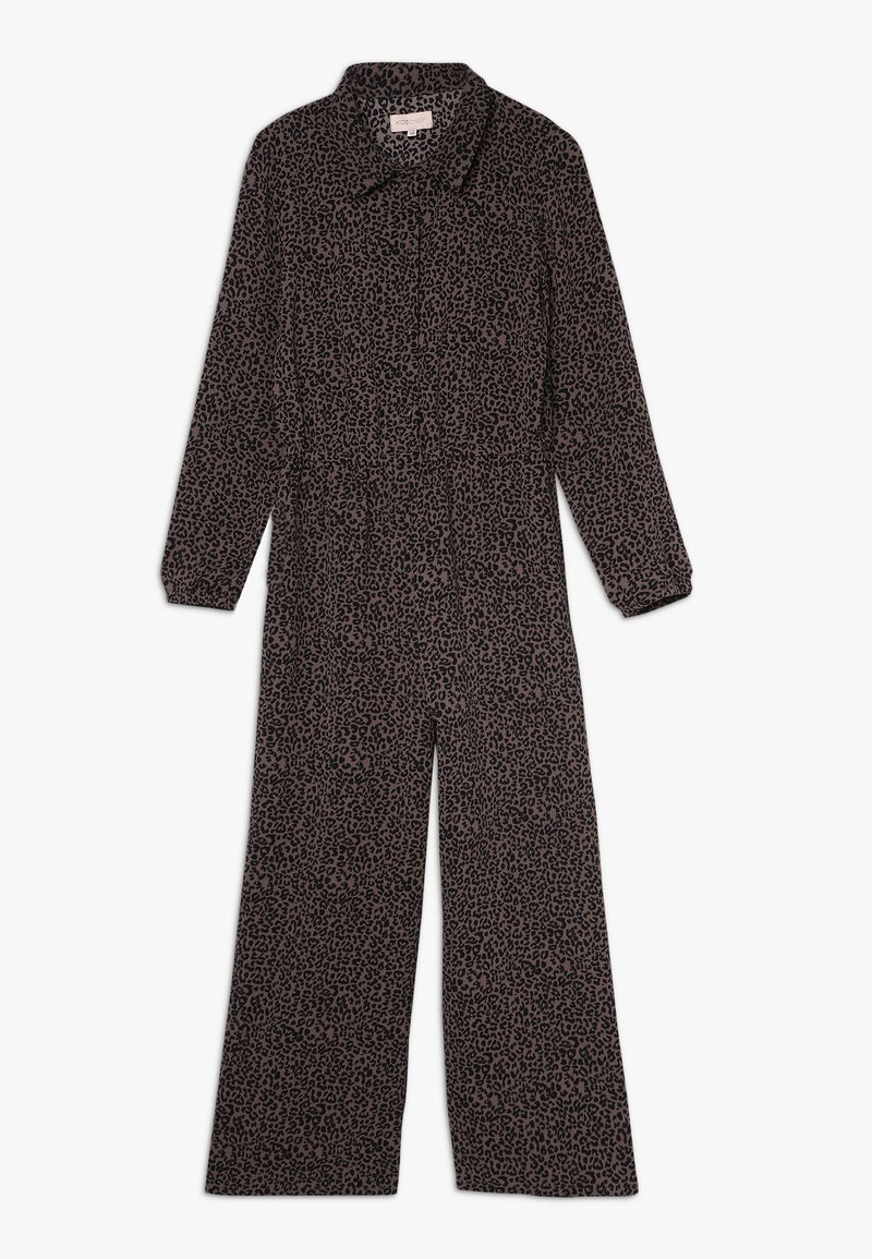 Kids ONLY - KONCOCO CROPPED - Tuta jumpsuit - bitter chocolate