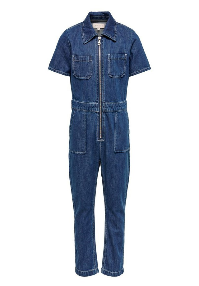 KIDS ONLY JUMPSUIT JEANS - Jumpsuit - dark blue denim