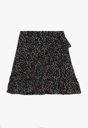 KONTHYRA FAKE WRAP SKIRT - A-line skirt - black