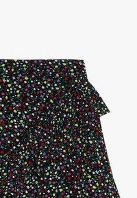 Kids ONLY - KONTHYRA FAKE WRAP SKIRT - Áčková sukně - black - 3