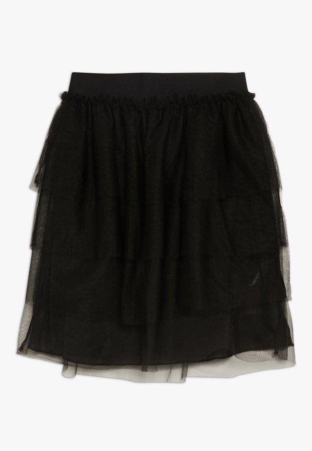KONALVA SKIRT - A-line skirt - black