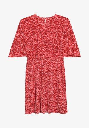 KONLAURA PLISSE DRESS - Day dress - bittersweet