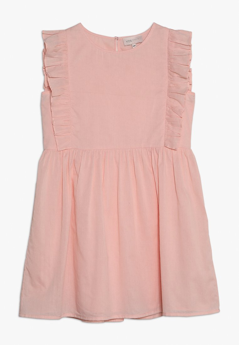 Kids ONLY - KONELLA FRILL DRESS - Denní šaty - blushing bride