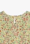 Kids ONLY - KONTHYRA FAKE WRAP DRESS - Denní šaty - popcorn