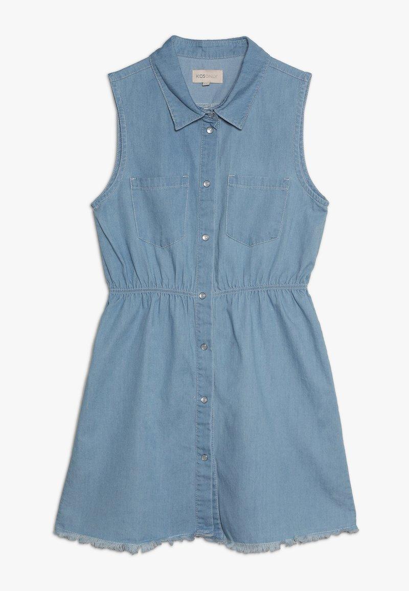 Kids ONLY - KONSARAH DRESS - Jeanskleid - medium blue denim