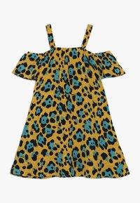 Kids ONLY - KONIDUN COLDSHOULDER DRESS - Denní šaty - mango mojito - 0