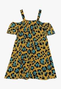 Kids ONLY - KONIDUN COLDSHOULDER DRESS - Denní šaty - mango mojito - 1
