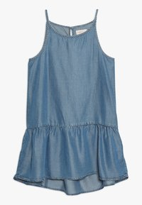 Kids ONLY - KONLOLA  DRESS - Denní šaty - medium blue denim - 0