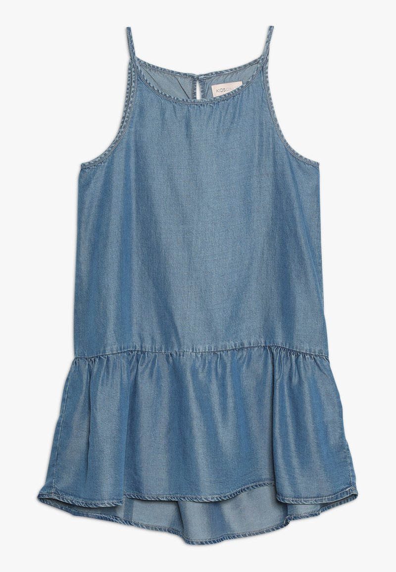 Kids ONLY - KONLOLA  DRESS - Denní šaty - medium blue denim