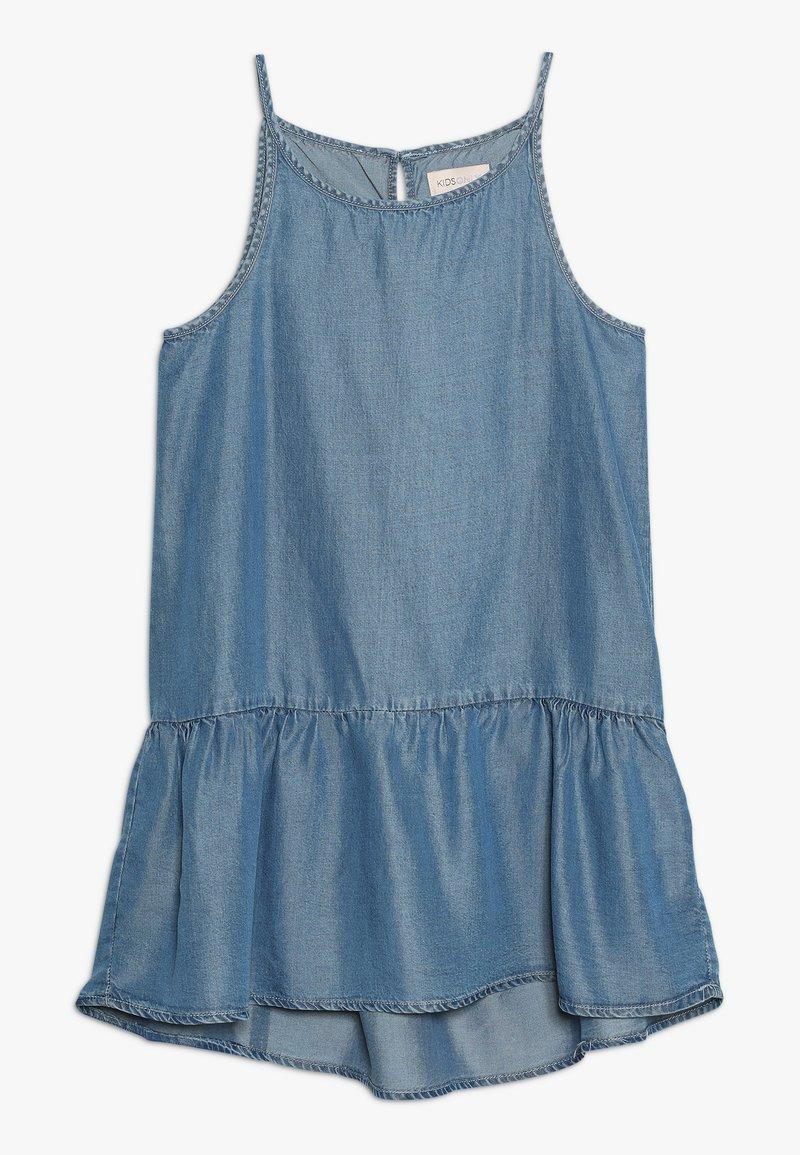 Kids ONLY - KONLOLA  DRESS - Freizeitkleid - medium blue denim