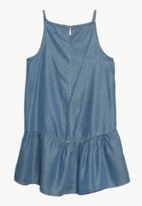 Kids ONLY - KONLOLA  DRESS - Denní šaty - medium blue denim - 1