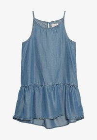 Kids ONLY - KONLOLA  DRESS - Denní šaty - medium blue denim - 3